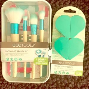 Ecotools Blooming Beauty bundle and wedges